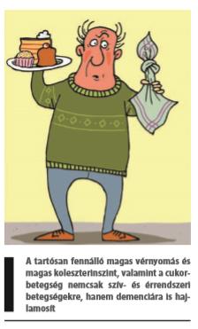 táplálkozás idős ember magas vérnyomásáért)