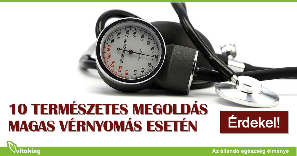 magas vérnyomás esetén szükséges)
