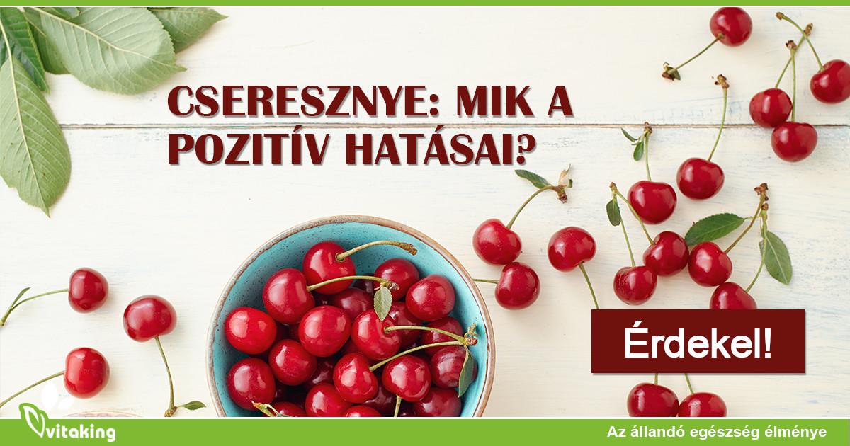 magas vérnyomás és cseresznye)