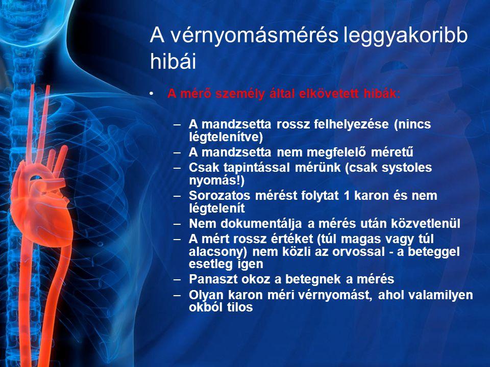 magas vérnyomás tapintása)