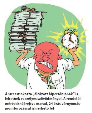 magas vérnyomás stressz)