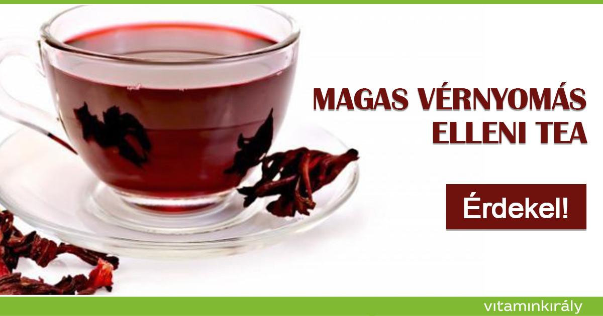 tea összetétele a magas vérnyomás ellen