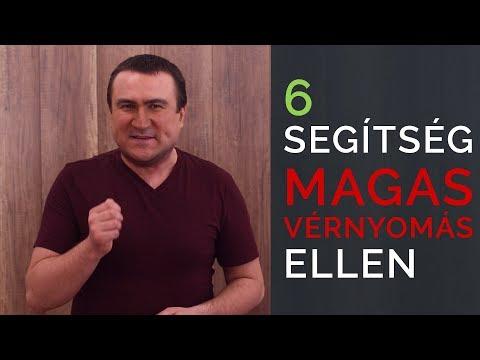 5 recept a magas vérnyomás ellen)