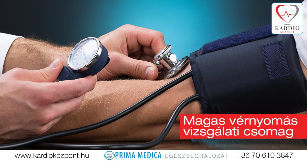 a magas vérnyomás diszperziós vizsgálata