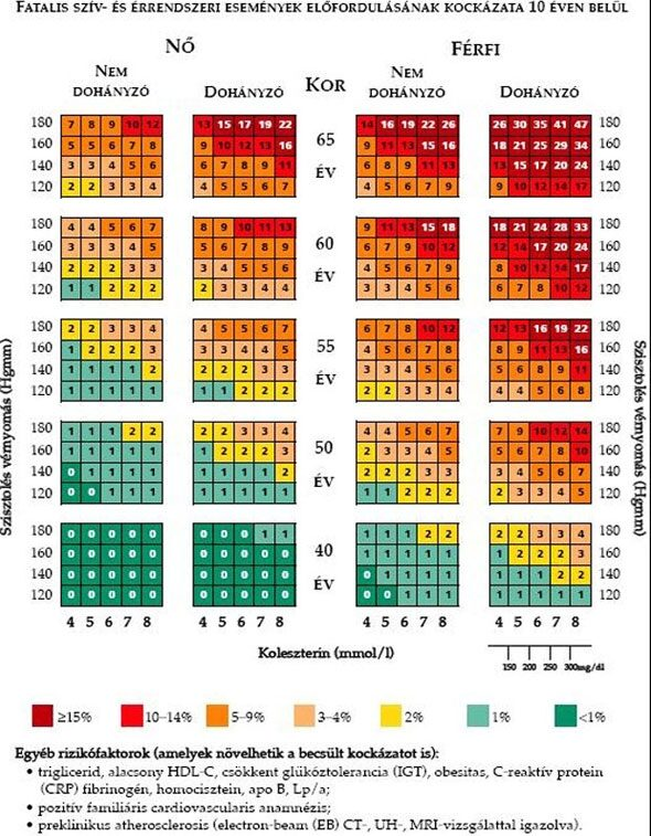 magas vérnyomás kockázati tényezők képek