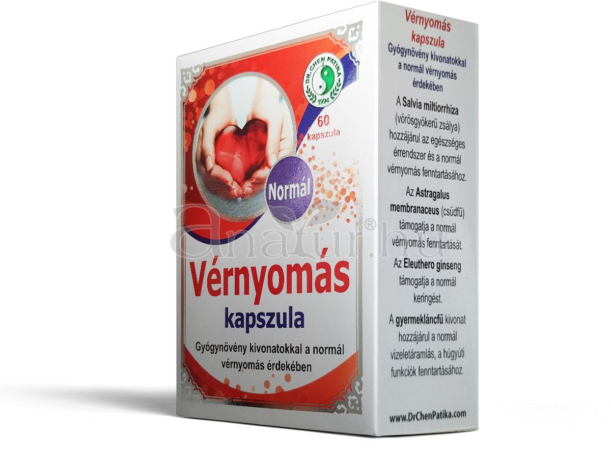 vitaminok a magas vérnyomás ellen