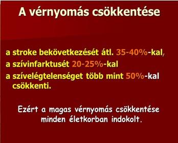 magas vérnyomás és kockázatok