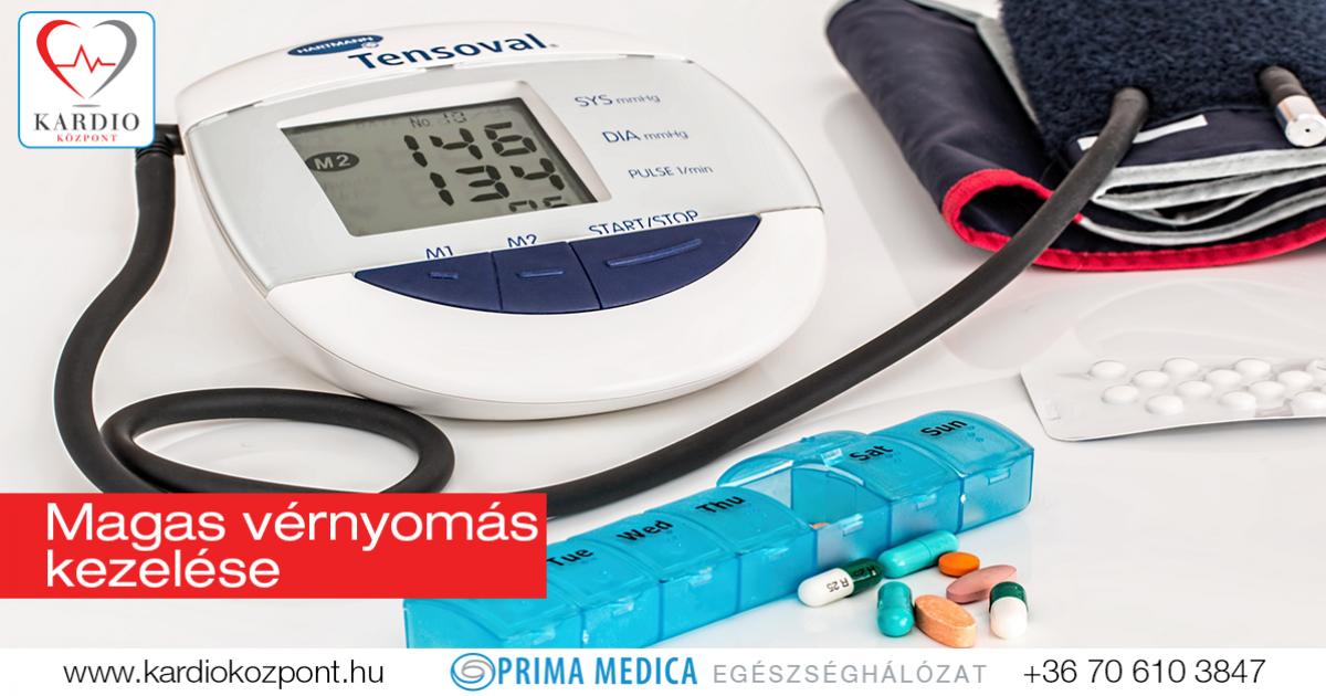 a magas vérnyomás enyhítése és kezelése