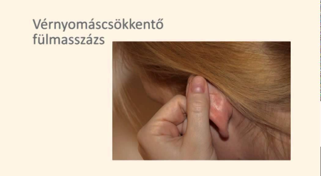 arcmasszázs magas vérnyomás ellen)
