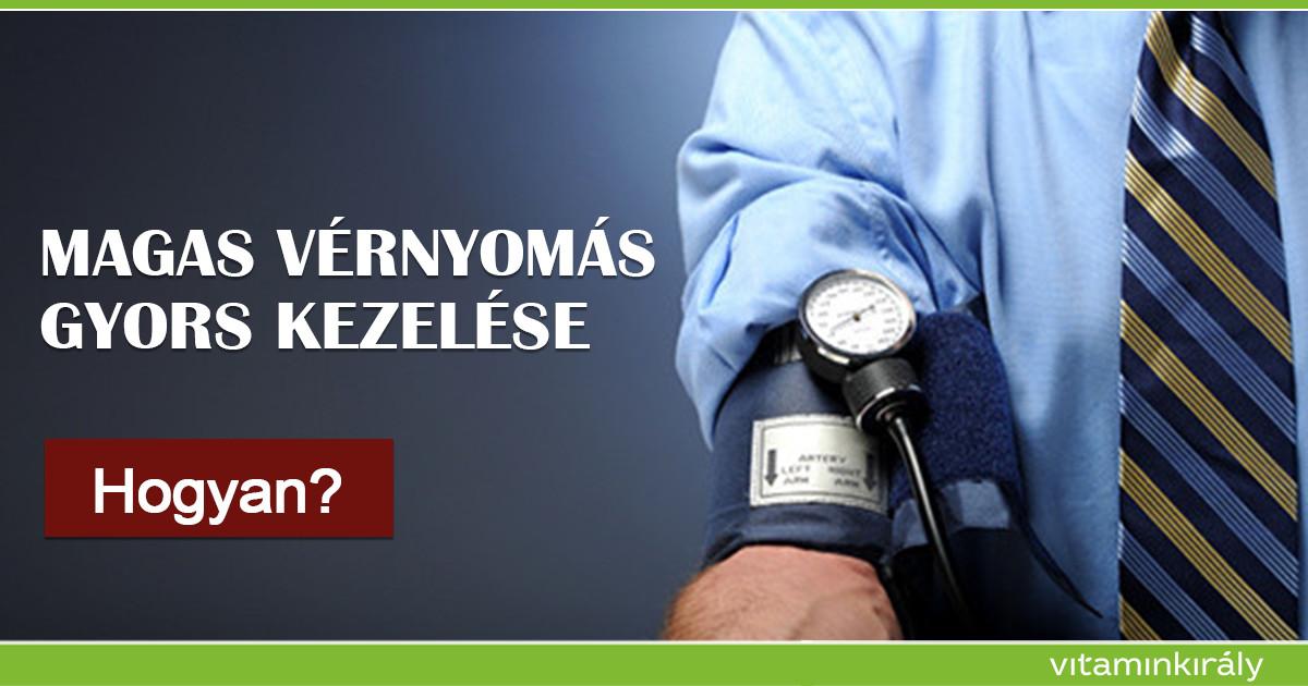 magas vérnyomást vízzel kezelni)