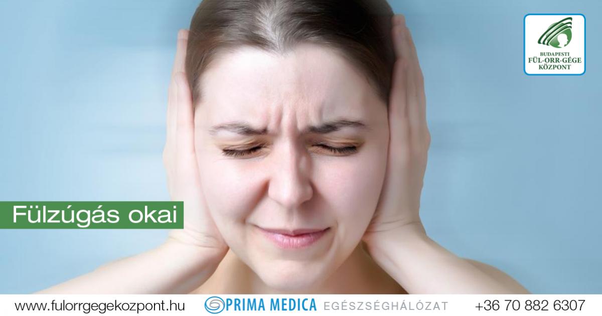 fülzúgás fejfájás magas vérnyomás
