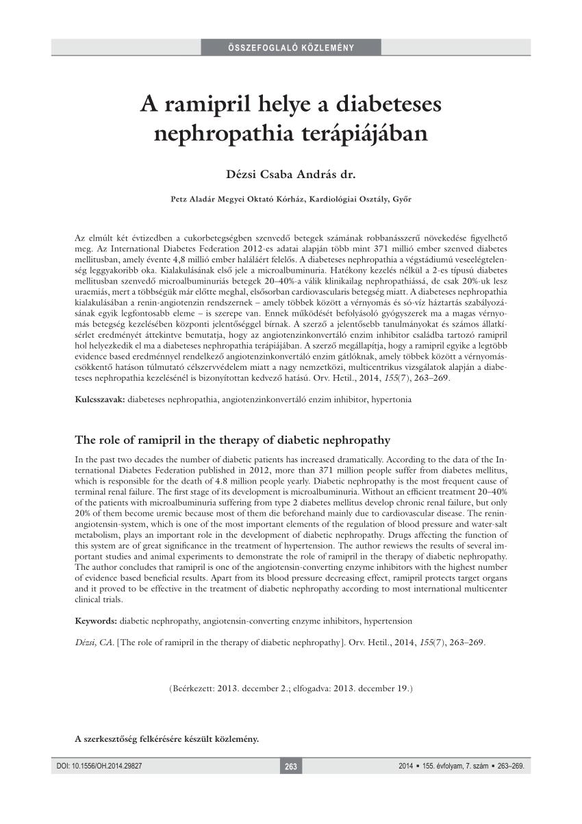RAMIPRIL 1A PHARMA 2,5 mg tabletta (30x)