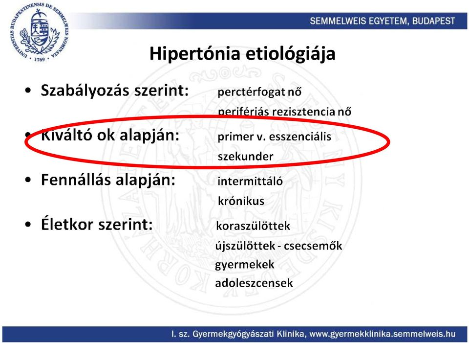hipertónia kutatási módszerek)
