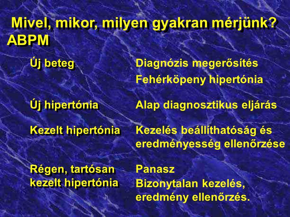 a hipertónia ambuláns regisztrációja)