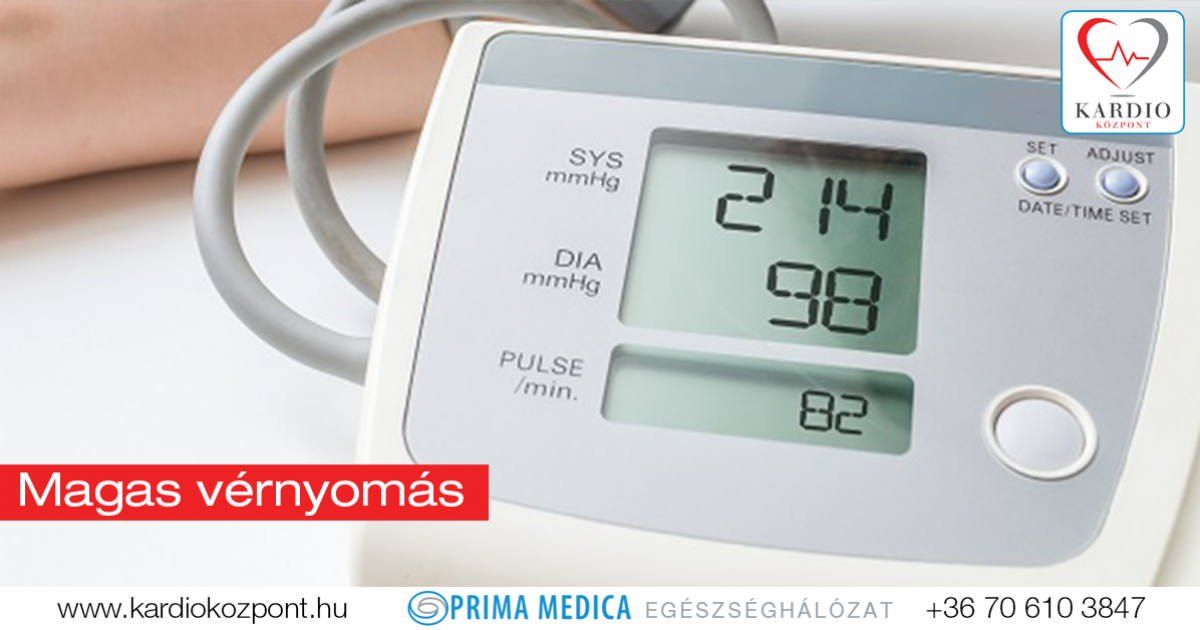 a vér vérnyomása magas vérnyomásban)