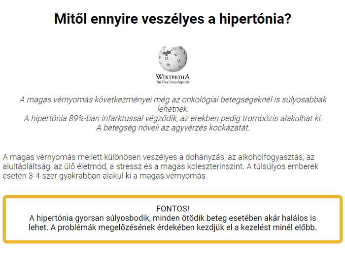 hipertónia a diákokban