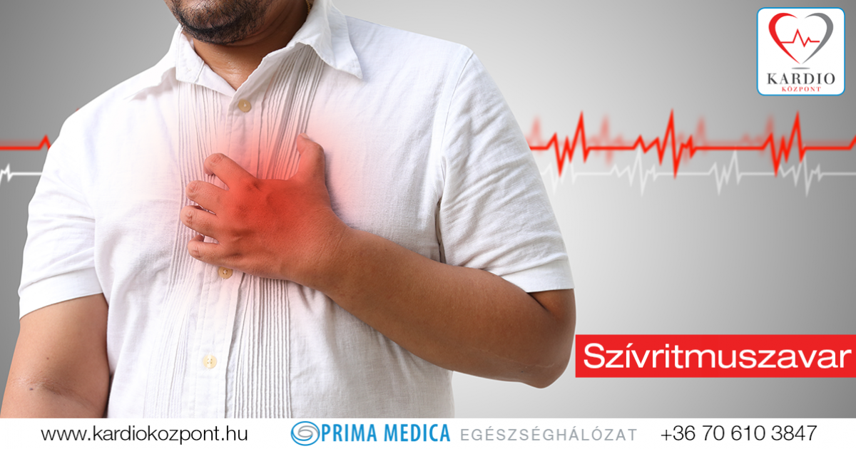 aritmia tachycardia magas vérnyomás)
