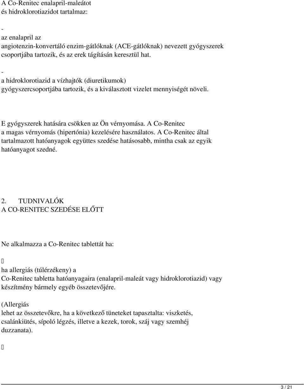 a magas vérnyomás elleni gyógyszerek nem vizelethajtók)