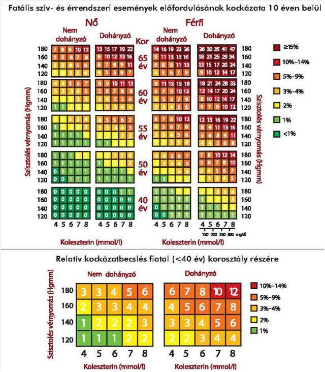 magas vérnyomás és magas koleszterinszint)