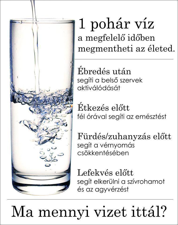 magas vérnyomás és 2 liter víz)
