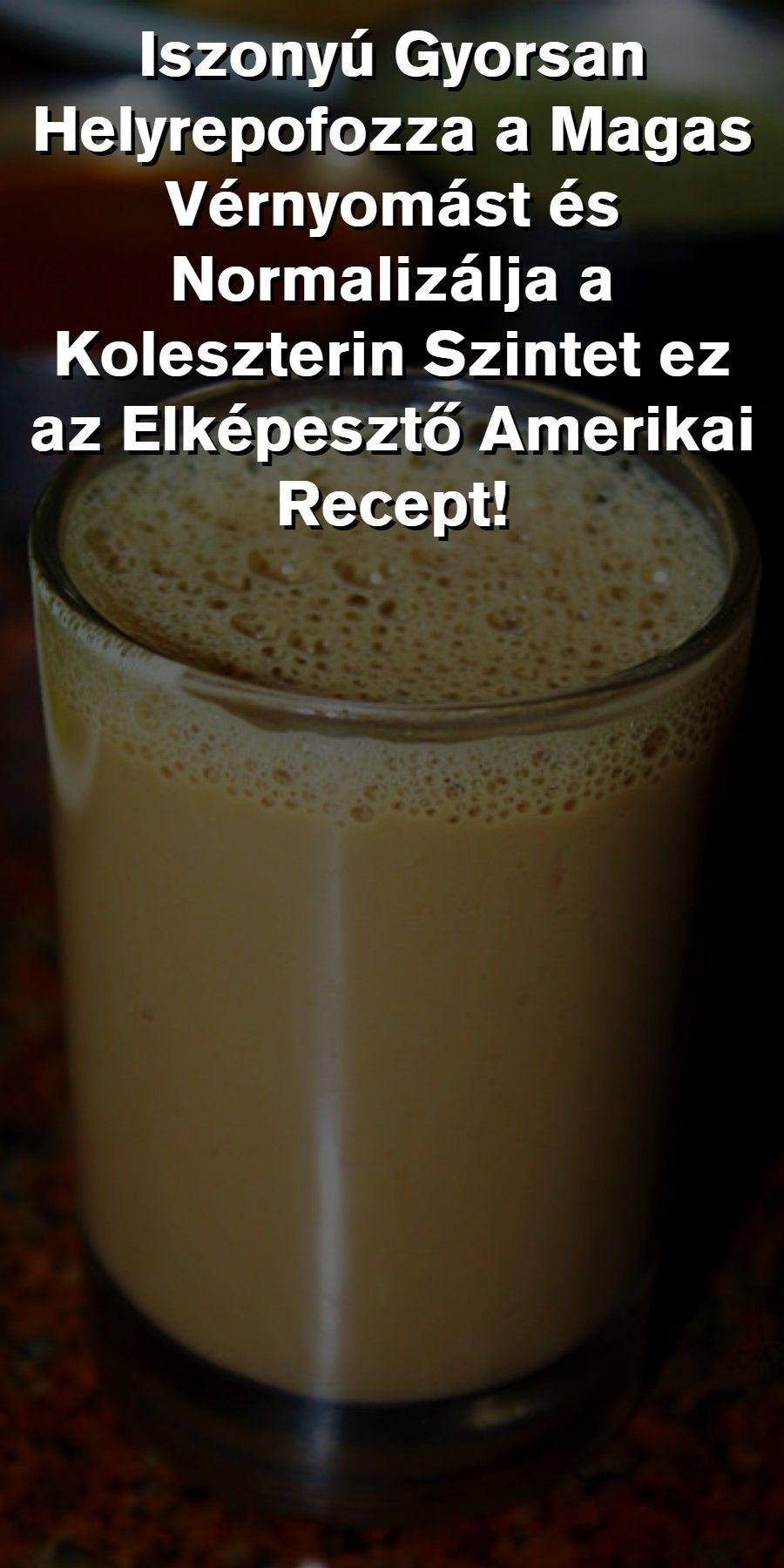 népi hatékony recept a magas vérnyomás ellen)