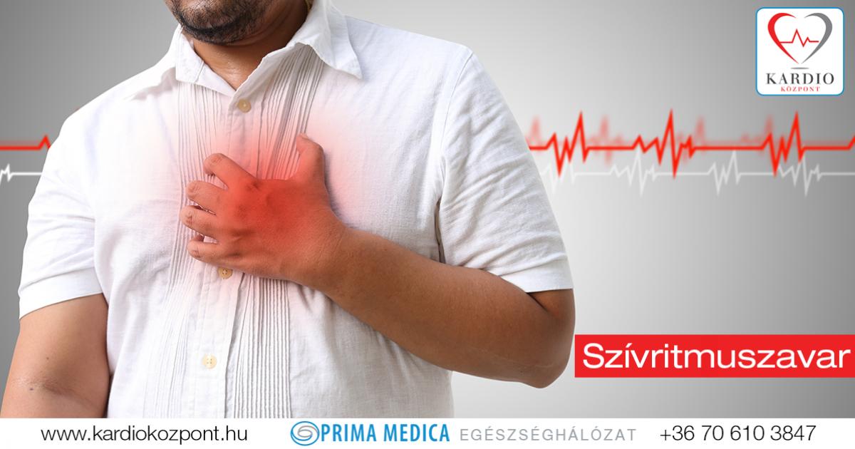aritmia és magas vérnyomás kezelése)