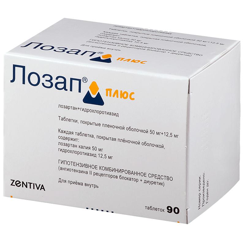gyógyszer magas vérnyomásért lozap)