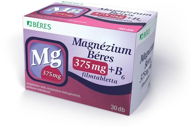 magas vérnyomású magnézium készítmények