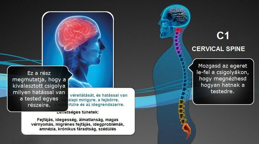 magas vérnyomás és nyaki csigolyák)