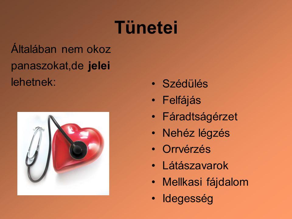 magas vérnyomás és tünetei)