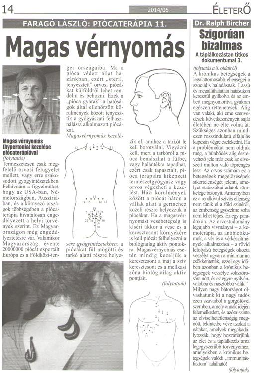 mi újság a magas vérnyomásban