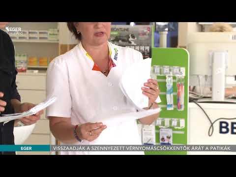 Yermoshkin magas vérnyomás éles nyomásesés magas vérnyomás esetén