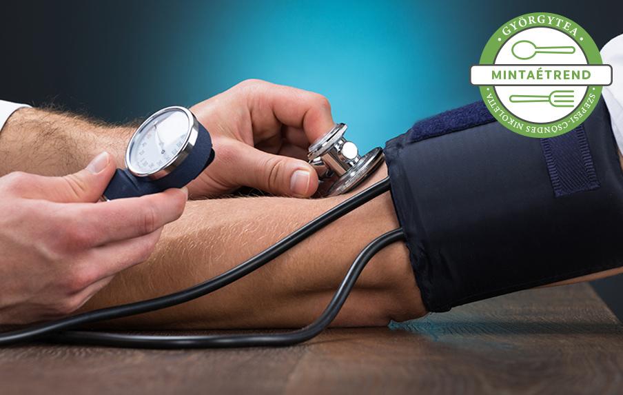 hozzávetőleges étrend magas vérnyomás esetén)