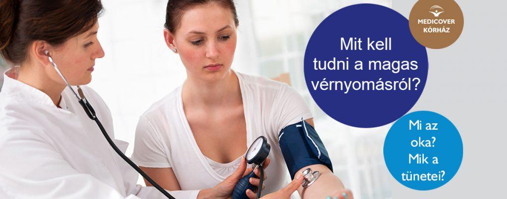 enyhe vagy közepesen magas vérnyomás)