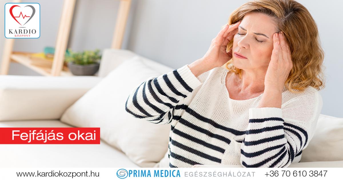 magas vérnyomásos fejfájás)