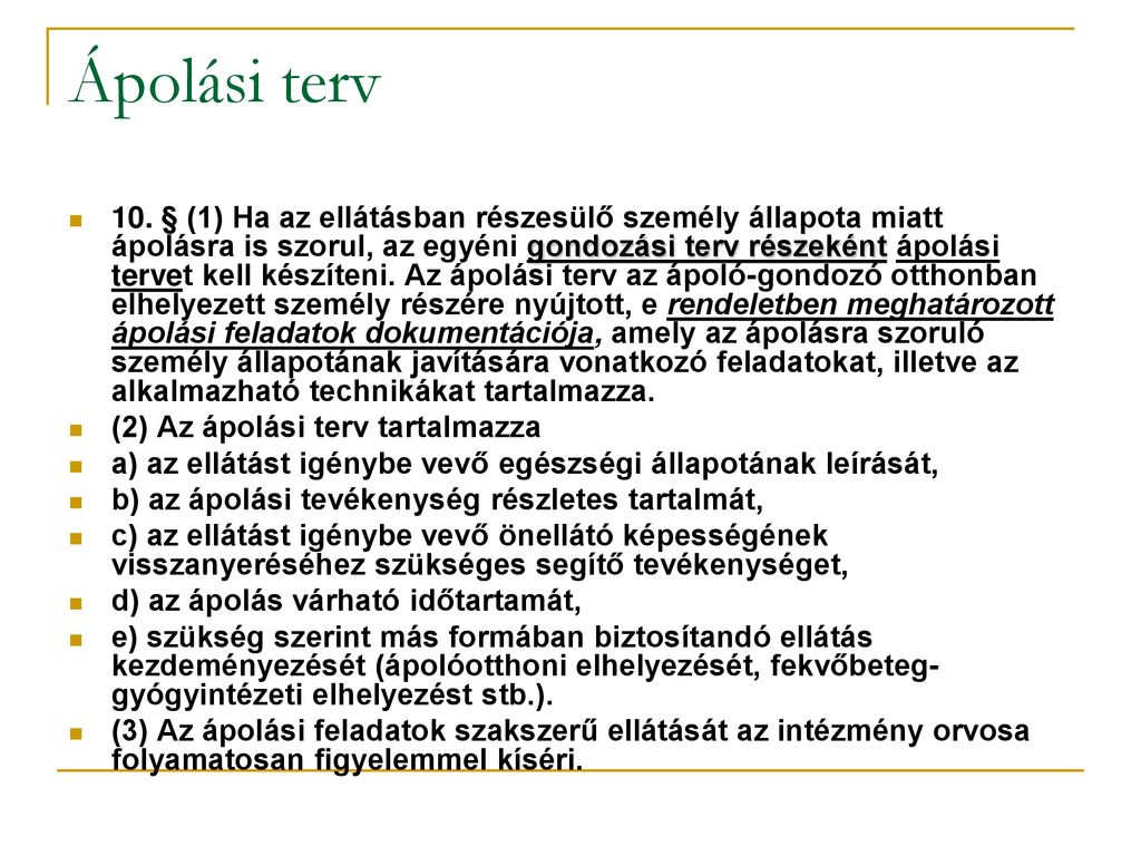 ápolási folyamat hipertónia)