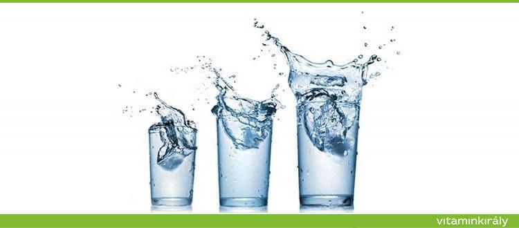 magas vérnyomás esetén igyon több vizet