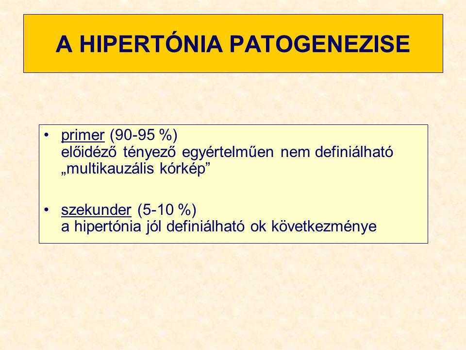 kockázati tényezők és a hipertónia okai