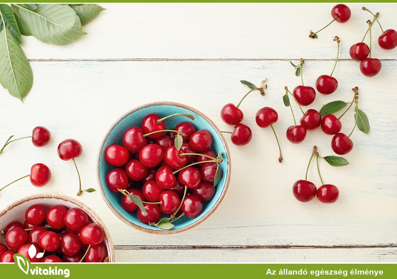 magas vérnyomás és cseresznye