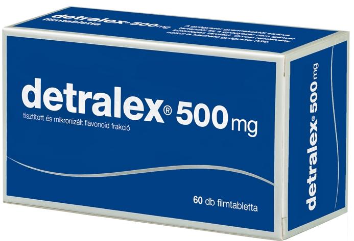 A Detralex magas vérnyomás esetén alkalmazható)