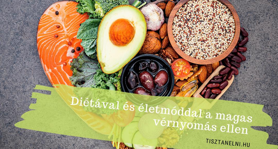 élelmiszerek és termékek magas vérnyomás ellen)