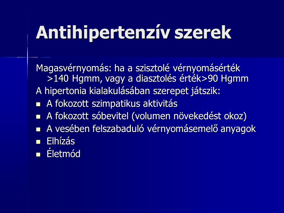 szinuszos hipertónia)