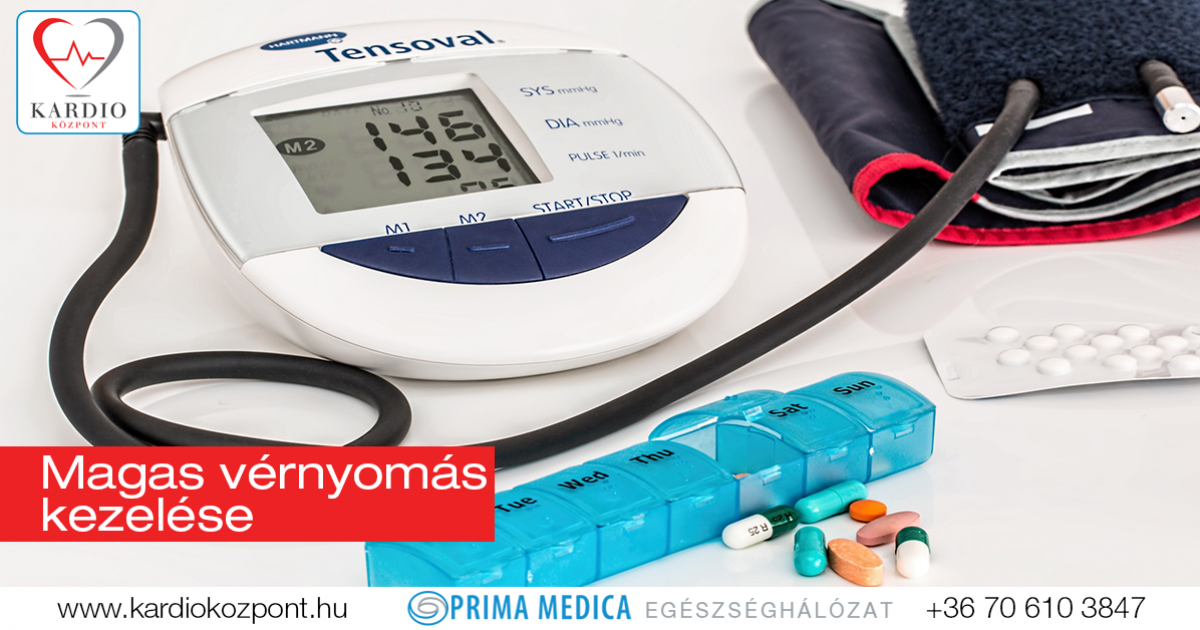 a magas vérnyomás karvedilollal történő kezelése