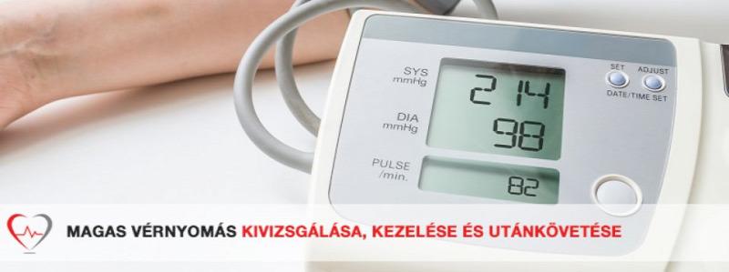 megnövekedett vérnyomás magas vérnyomással mit kell tenni)
