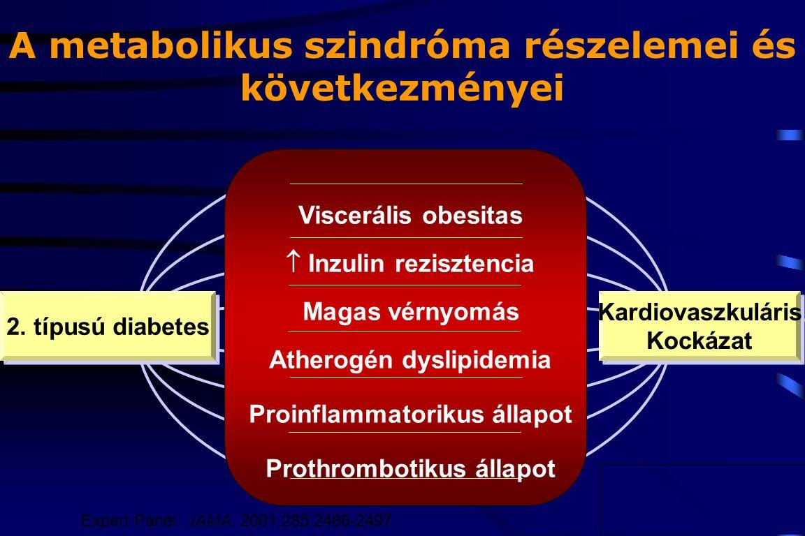 Hypertonia, metabolikus szindróma, 2-es típusú diabetes