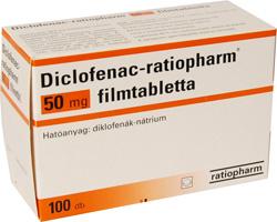 diclofenac magas vérnyomás
