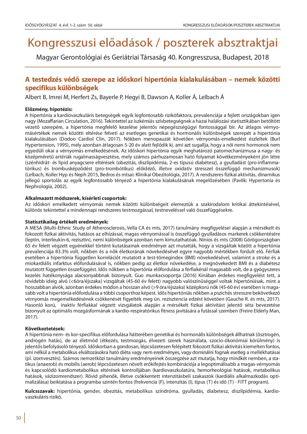 hipertóniás gyógyszerek kezelésének módszerei)