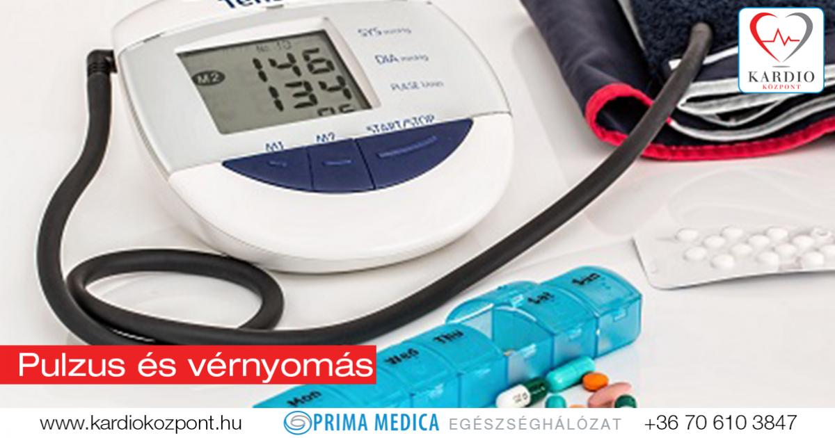 pulzus magas vérnyomással magas vérnyomás és cukorbetegség diéta