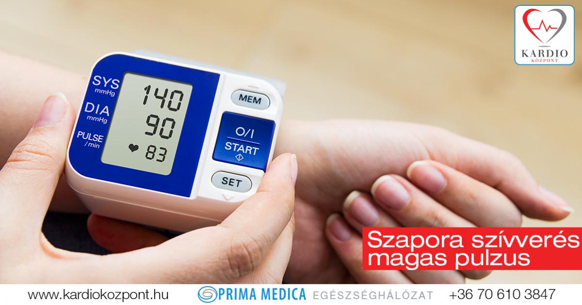 tachycardia elleni gyógyszerek magas vérnyomás esetén